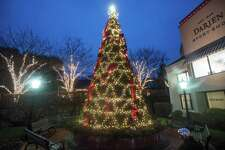 This year's Darien Sport Shop tree lighting will be virtual, via the store's Facebook and Instagram pages. Santa will arrive at 5 p.m.