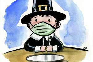 Illustration marking Thanksgiving 2020