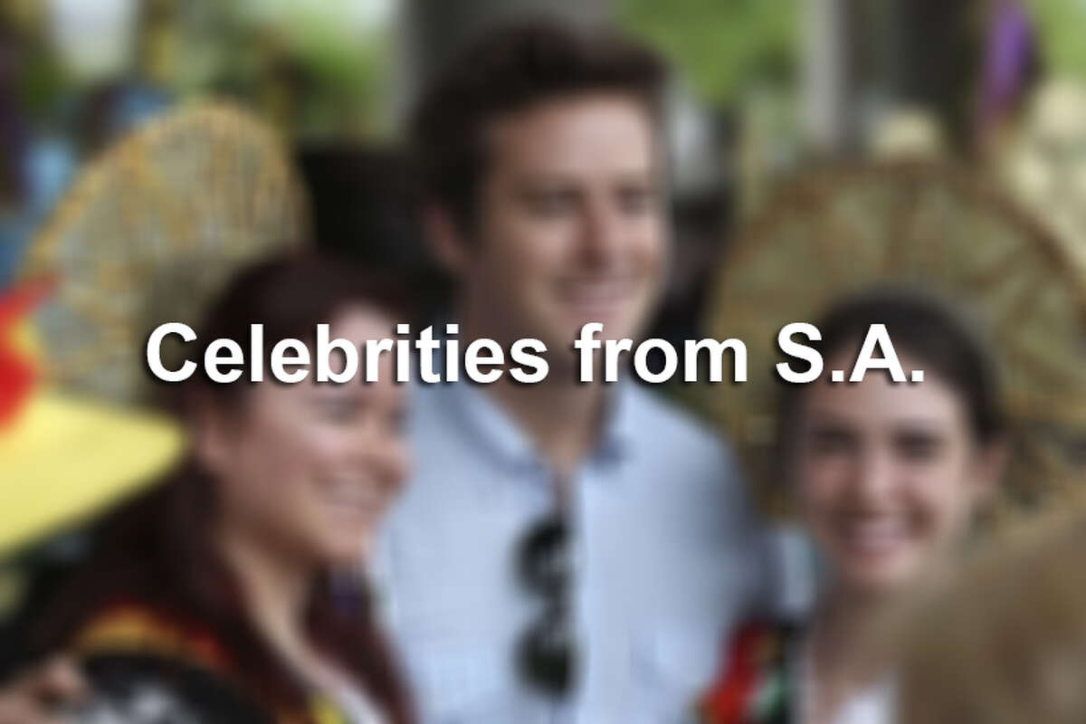 Celebrities from San Antonio.