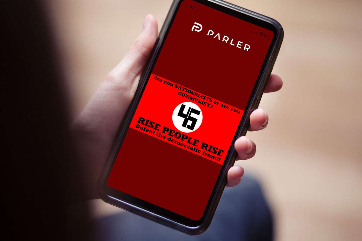 Parler is a new social media app aimed at conservative users that have become disillusioned with Facebook and Twitter. It has become a hotbed of offensive content that would not be allowed on those sites.