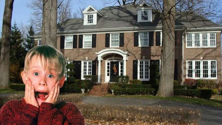 "Photo: ""Home Alone"": 20th Century Fox; House: Wikipedia/Creative Commons"