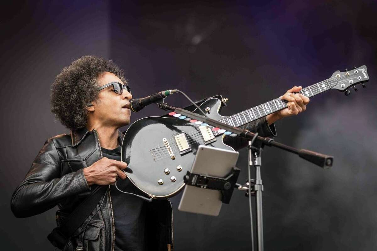 The American rock band Alice in Chains performs a live concert during the Danish music festival Northside 2019 in Aarhus. Here singer and guitarist William DuVall is seen live on stage. (Photo by: PYMCA/Avalon/Gonzales Photo/Thomas Rasmussen/Universal Images Group via Getty Images)