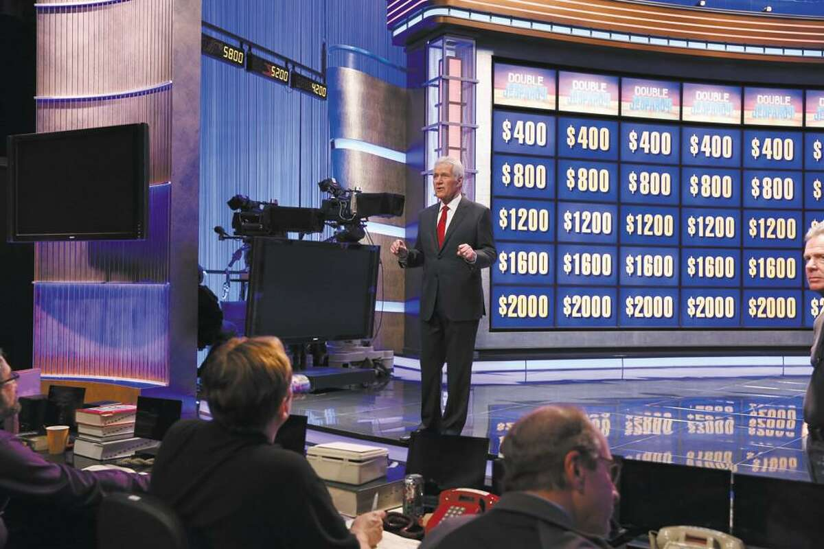 During breaks, Alex Trebek would answer questions from the Jeopardy! studio audience.