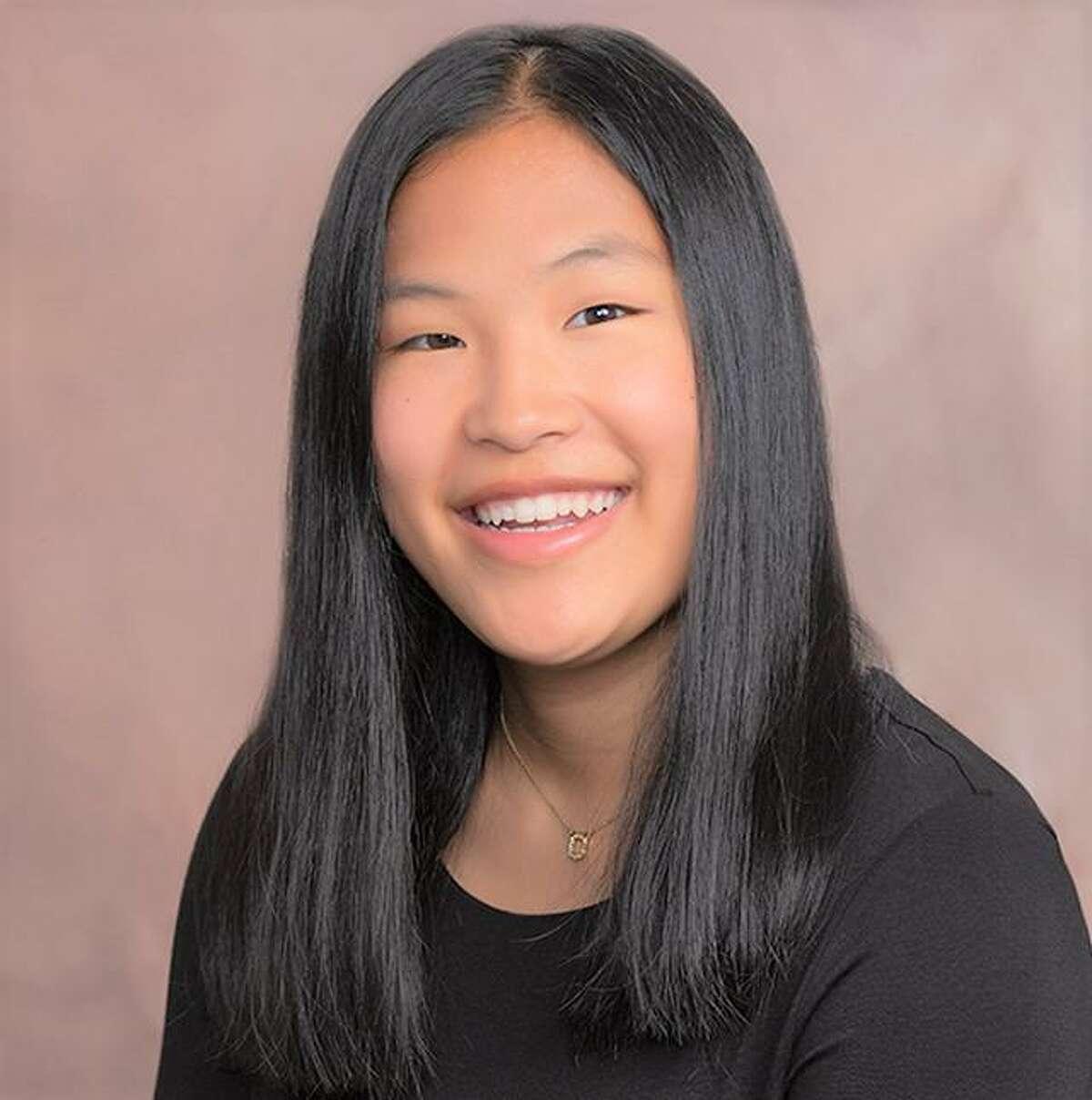 Mercy High School student Lily Herron