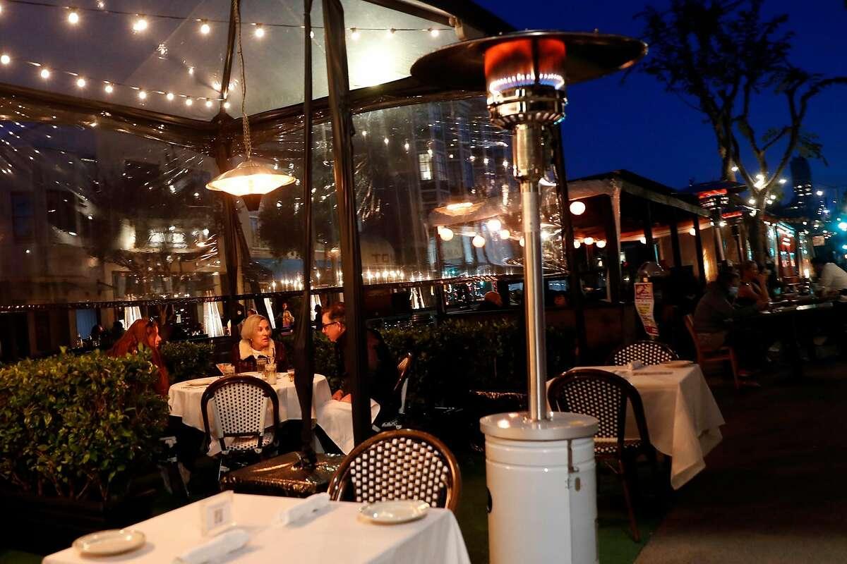 Izzy's Steakhouse on Steiner Street in San Francisco, Calif., on Sunday, November 22, 2020.