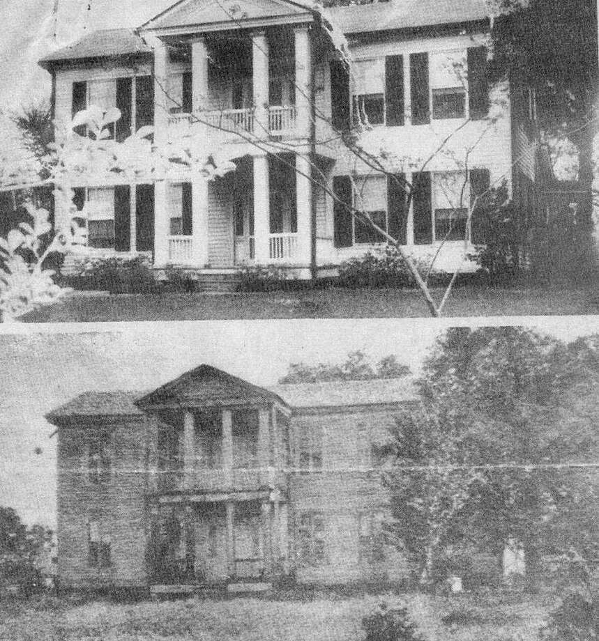 "In 1854 Peter and Caroline Willis engaged local builder John Shelton to build an impressive home  on College Street in Montgomery. The home was called ""Magnolia,"" named for their daughter  who was born in the house on June 15, 1854. Visitors to the home included General Sam Houston,  the hero of the Texas Revolution, and Charles B. Stewart, local political and civic leader who designed the Lone Star Flag. Photo: Photo Courtesy Larry Foerster / The Montgomery County Historical Commission."