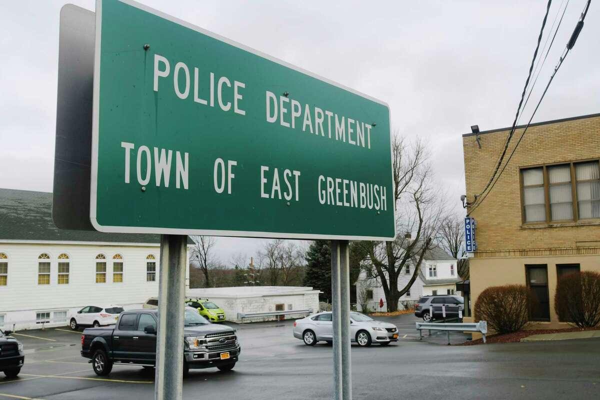 A view of the East Greenbush Police Department on Thursday, Nov. 26, 2020, in East Greenbush, N.Y. (Paul Buckowski/Times Union)