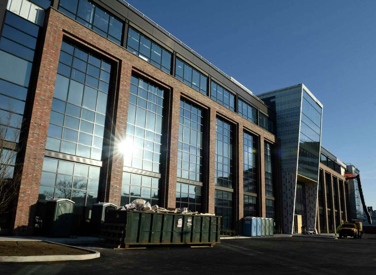 Construction continues at The Village center in Stamford, Conn. Located at 860 Canal St., the 133,000-square-foot facility is set to open in the spring of 2021.