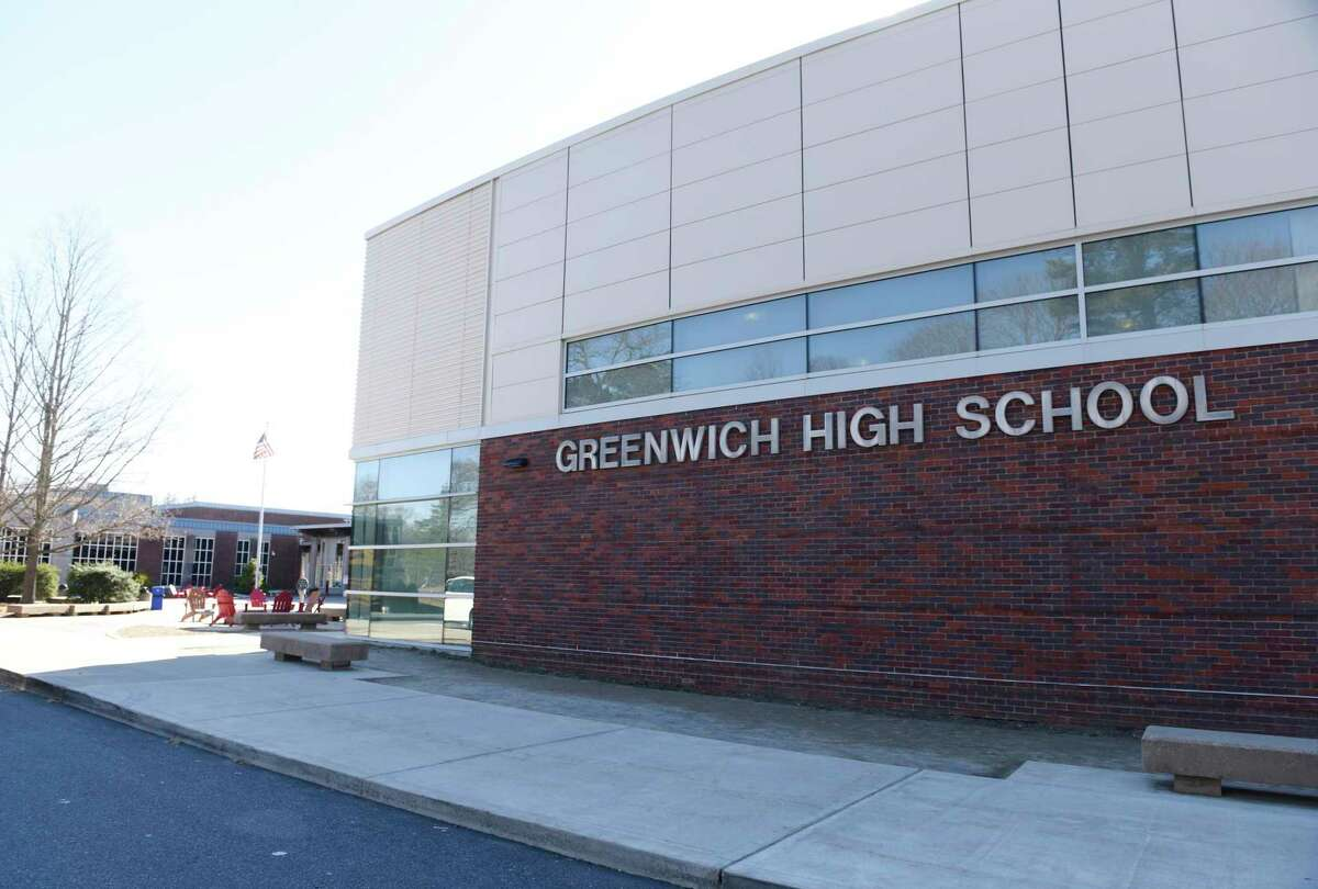 Greenwich High School in Greenwich, Conn., photographed on Wednesday, March 26, 2019.
