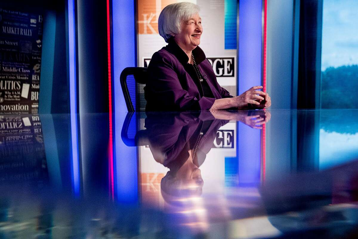 Former Fed chief Janet Yellen has strong ties to the Bay Area. She taught at UC Berkeley's Haas School of Business and headed the San Francisco Federal Reserve Bank.