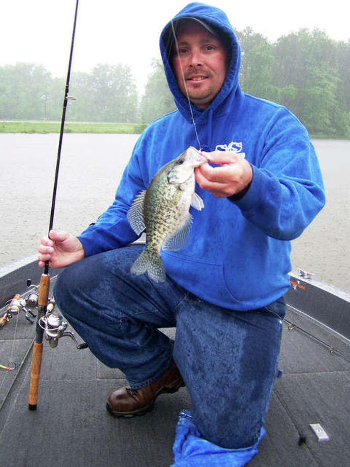 The winter months may actually be the very best time to land bragging size crappie from each of Illinois three large Corps of Engineers impoundments. Photo: Curt Hicken / For The Telegraph