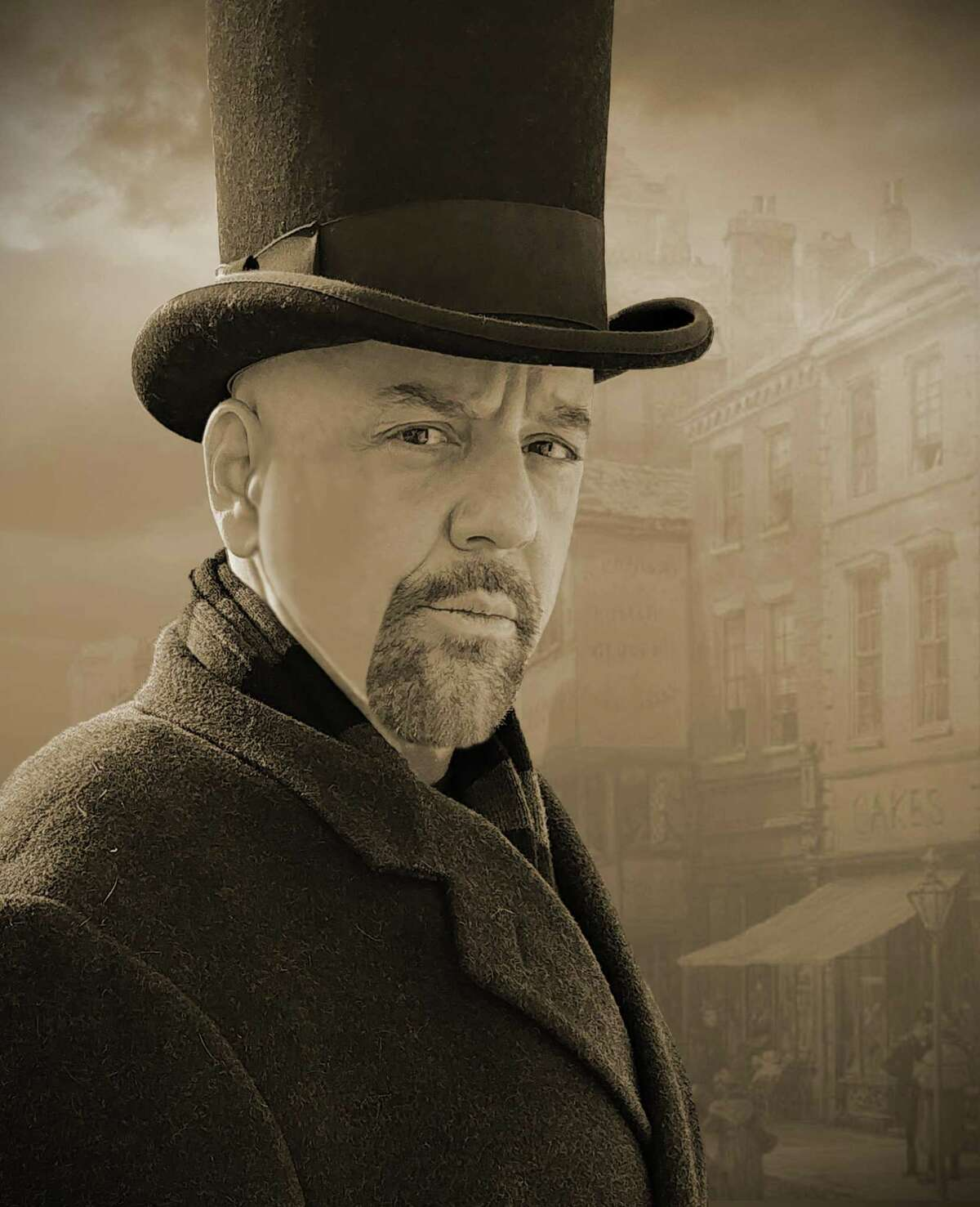 Patrick Spadaccino stars in his one-man adaptation of the Charles Dickens' classic A Christmas Carol.