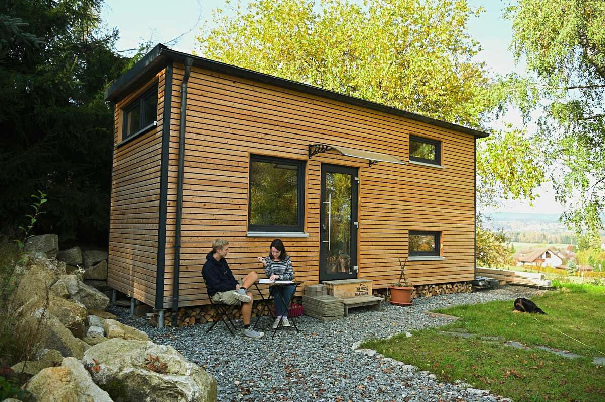 Most tiny homes, according to the study, are 400 square feet or smaller and can be built on wheels.