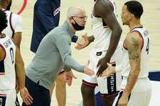 UConn coach Dan Hurley.