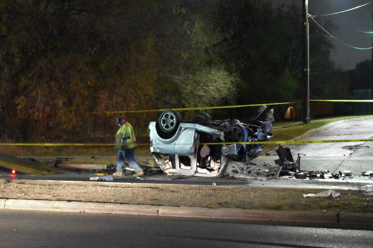 The driver of a wrong-way SUV and a 2-year-old boy in another car were killed in a head-on collision on Southcross Boulevard on the Southeast Side on Friday night.