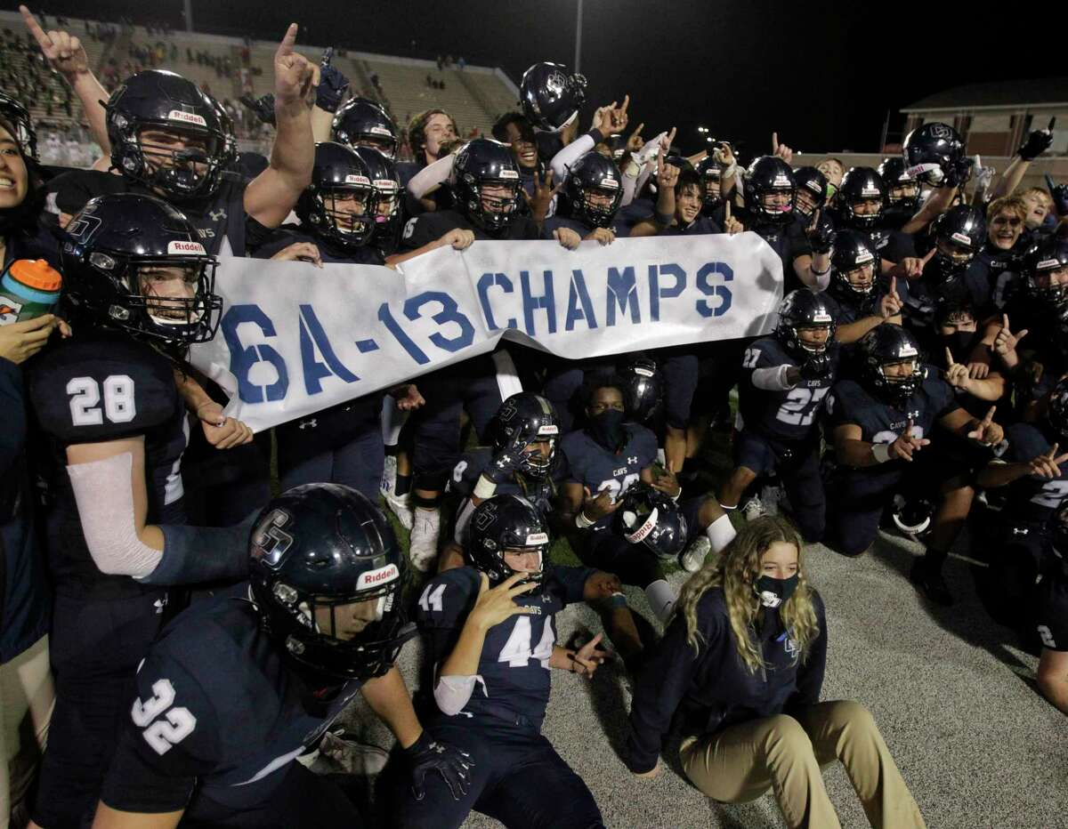 College Park defeated The Woodlands 35-31 the District 13-6A championship and their first win over the Highlanders since 2007 at Woodforest Bank Stadium, Friday, Nov. 27, 2020, in Shenandoah.