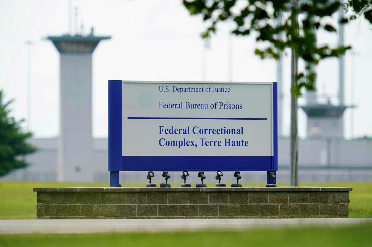 Esta foto de archivo del 28 de agosto de 2020 muestra la penitenciaría federal de Terre Haute, Indiana.