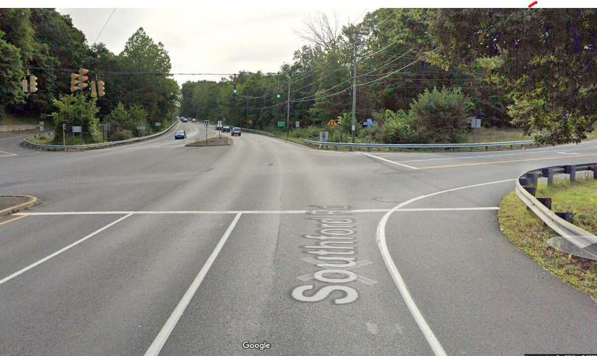 A 52-year-old motorcyclist was killed on Friday, Nov. 27, 2020 in an accident involving a dump struck, State Police said. According to the accident report, the dump truck was traveling eastbound on Kettletown Road and the motorcycle was traveling southbound on Route 67 (Southford Road). The intersection (pictured) is a short distance from I-84.