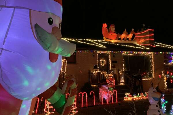 Images of Christmas decorations from around Midland, Nov. 27, 2020