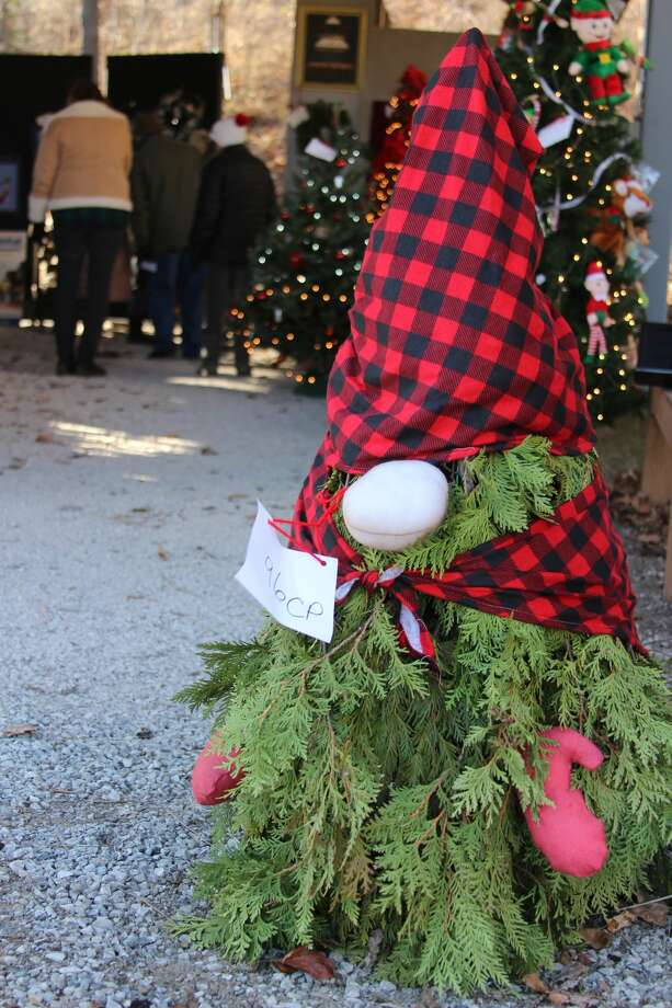 The Festival of Trees, held on  Thanksgiving weekend, featured a variety of decorated trees and wreaths. Photo: (Photo/Colin Merry)