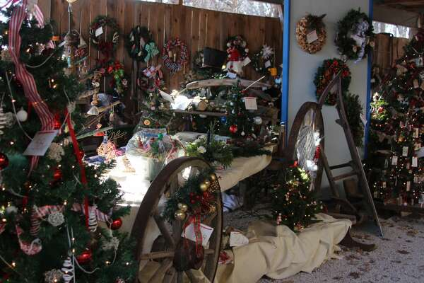 The Festival of Trees, held on  Thanksgiving weekend, featured a variety of decorated trees and wreaths.