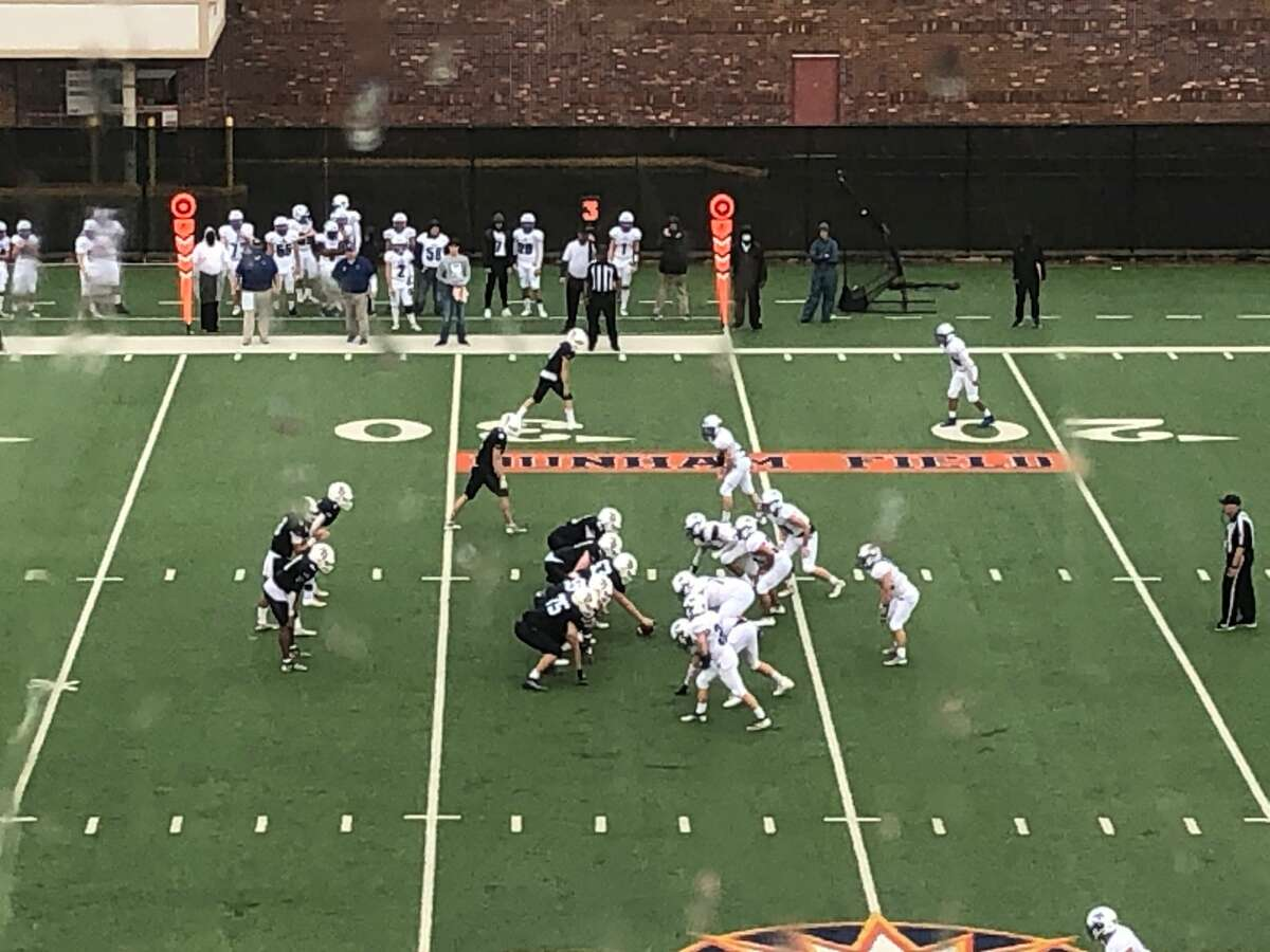 Second Baptist dominated both sides of the ball in a 42-0 win over the St. Joseph Flyers in a TAPPS Division II area round playoff game at Houston Baptist University's Husky Stadium on Saturday afternoon.