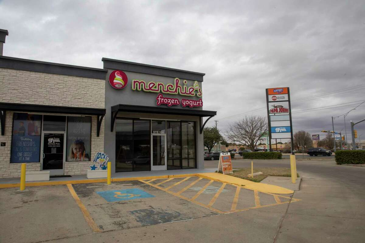 Menchie's Frozen Yogurt has put up signage next to The Little Gym as seen Friday, Nov. 27, 2020 at 4400 103 Loop 250 Frontage Road. Jacy Lewis/Reporter-Telegram