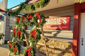 Maggie's in Bear Lake held a story time event with Santa on Saturday. (Arielle Breen/News Advocate)