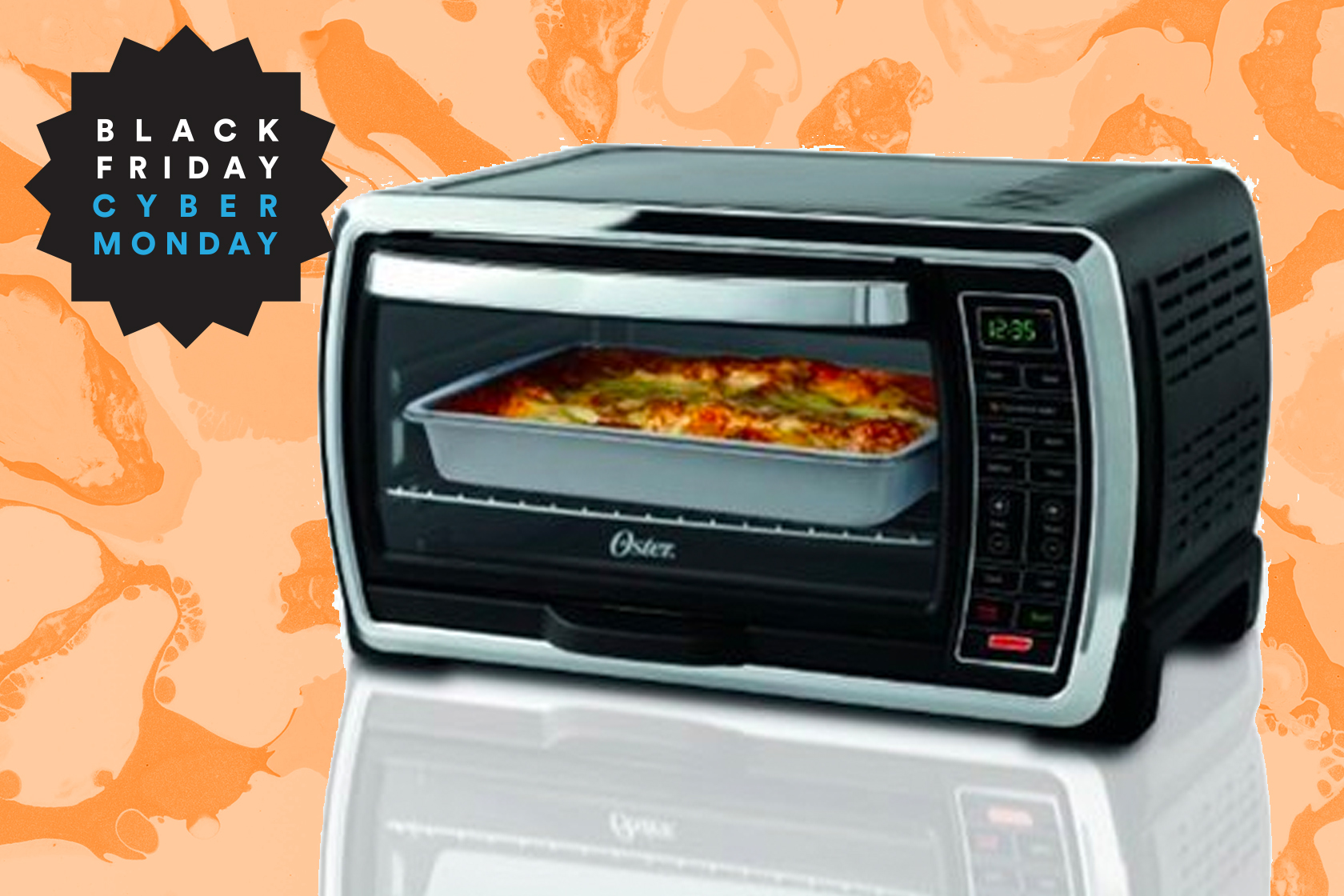 Digital toaster oven on sale, will revolutionize your life.