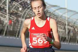 CCA's Amelia Thompson was an all-state runner this season. (Courtesy runner)