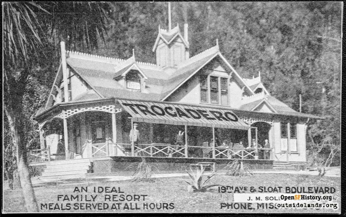 The Trocadero Roadhouse circa 1920.
