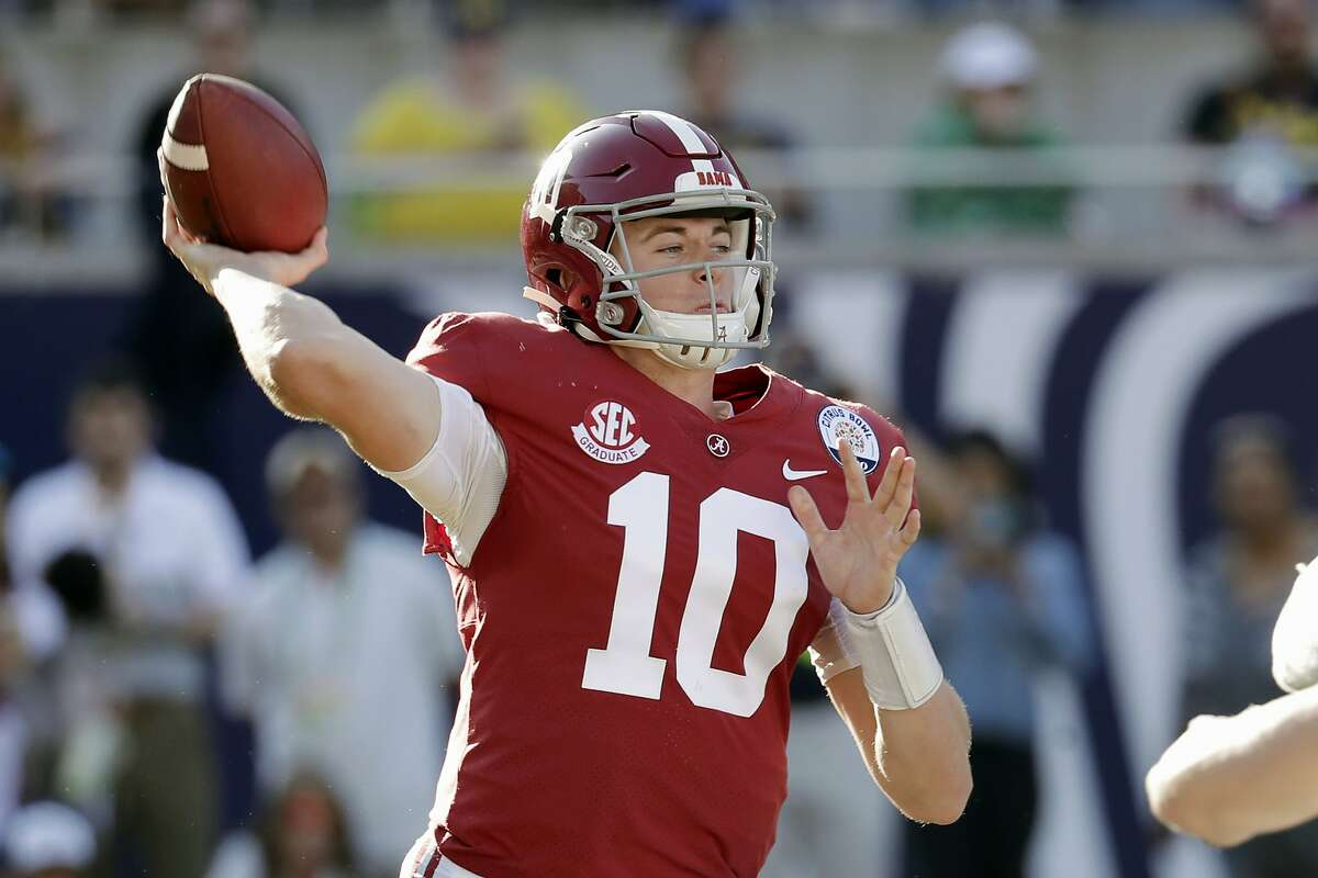Mac Jones, who has passed for 2,728 yards and 23 TDs this season, is one reason Alabama is unbeaten.