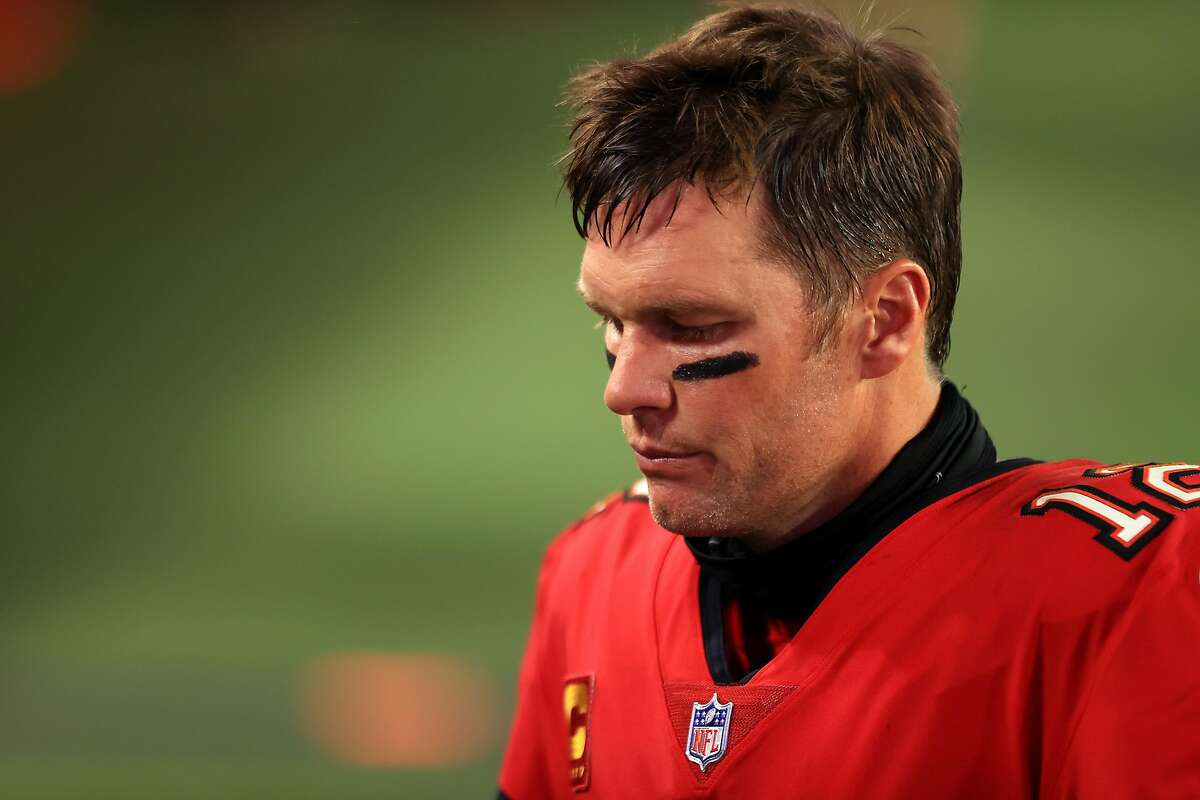 Bucs quarterback Tom Brady was 27 of 41 for 345 yards, but it wasn't enough to beat the Chiefs.