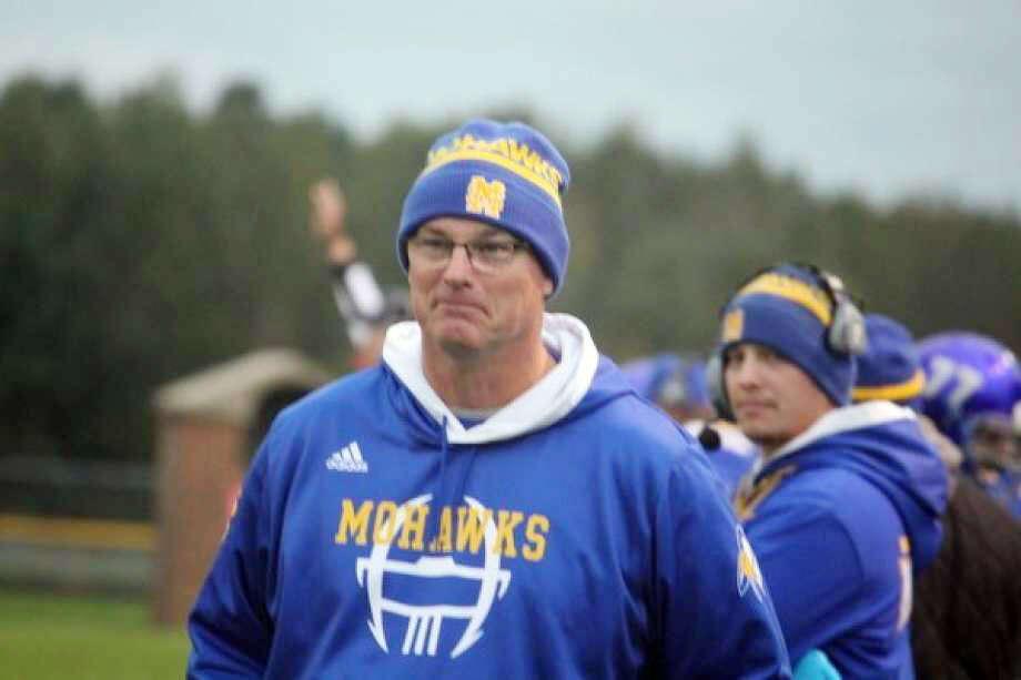 Clark Huntey spent 12 seasons as Morley Stanwood's football coach and 15 seasons as athletic director. Photo: Pioneer File Photo