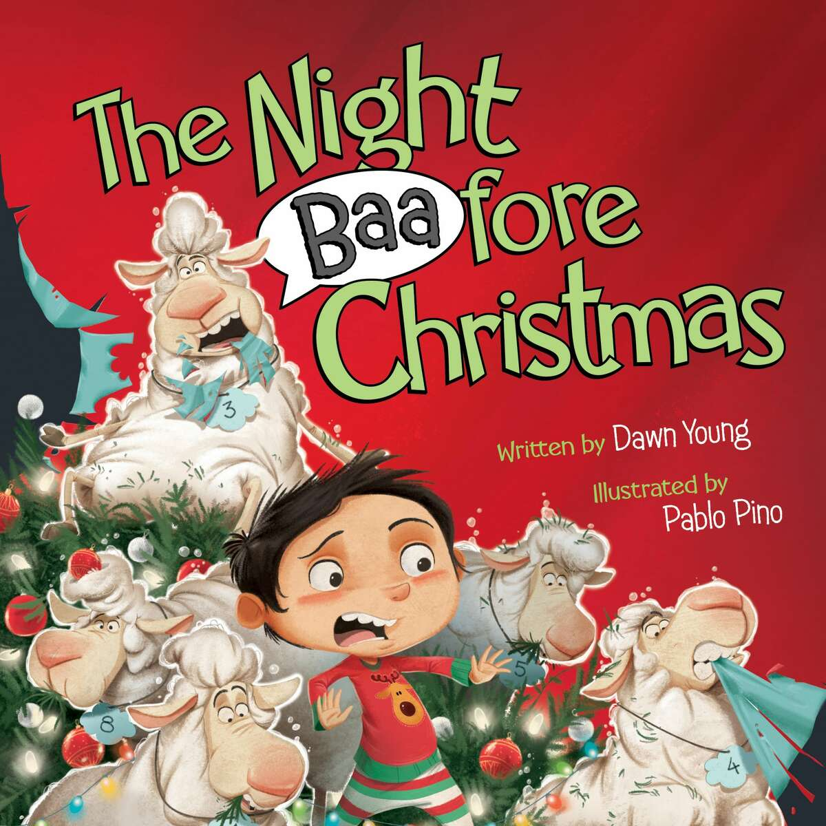 """""""The Night Baafore Christmas"""" by Dawn Young."""