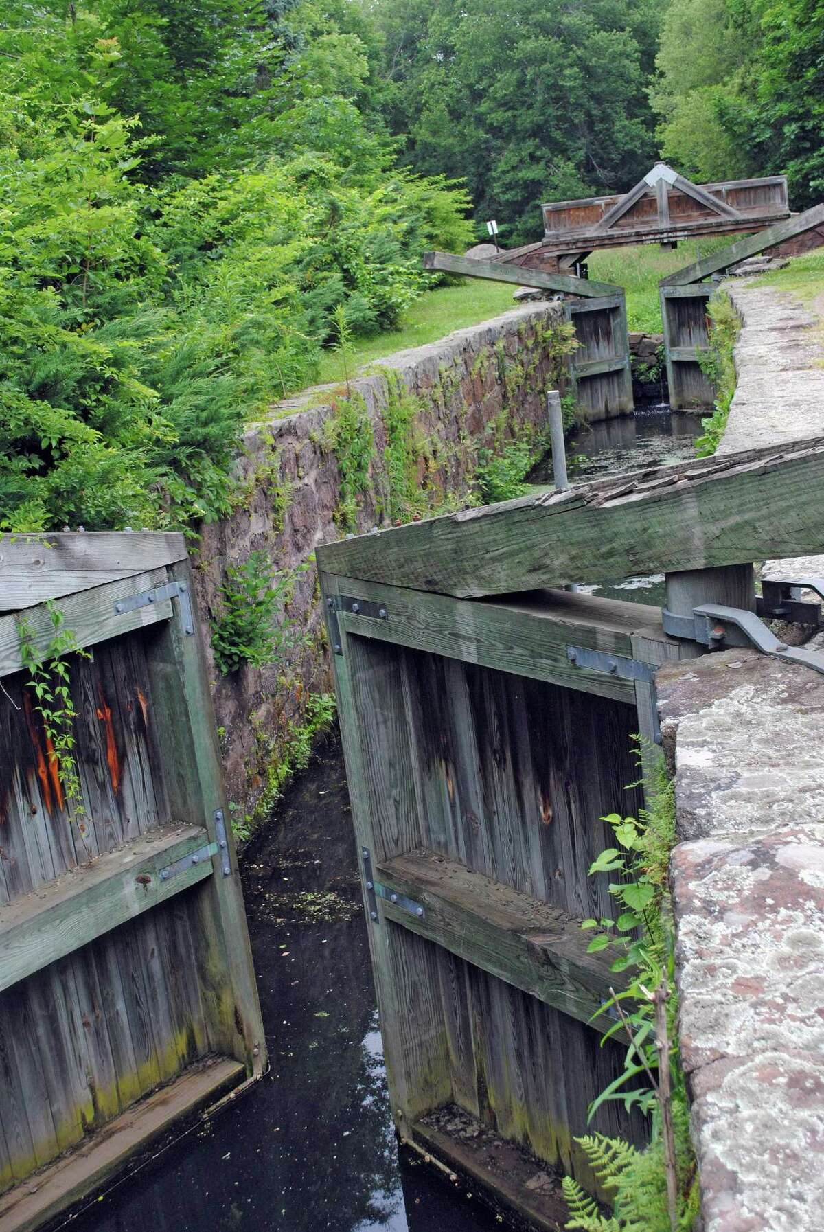 Along the Farmington Canal trail, the Canal Lock 12 in Cheshire is the only restored lock remaining today. It operated from 1828 to 1848 before trains became the preferred form of transportation. The Farmington Canal Heritage Trail is the granddaddy of paved bike trails in the Hamden and Cheshire areas, extending smoothly now from New Haven to Southington, where it will eventually continue an 81-mile paved stretch to Northampton, Mass. (There still is work to be done in Southington.)