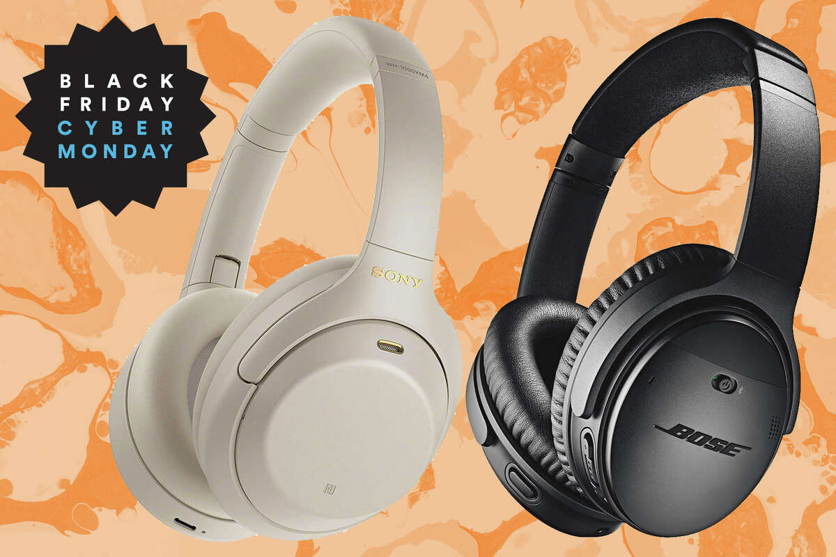 Bose Quiet Comfort 35 noise cancelling headphones, normally $299, reduced to $199 for Cyber Monday.