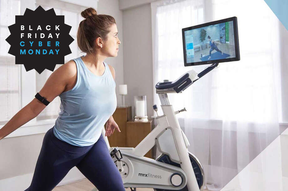 Save $250 on a MYX Bike, Plus get free shipping & a holiday gift bundle – Use promo code CYBERWEEK Photo: MYX Fitness