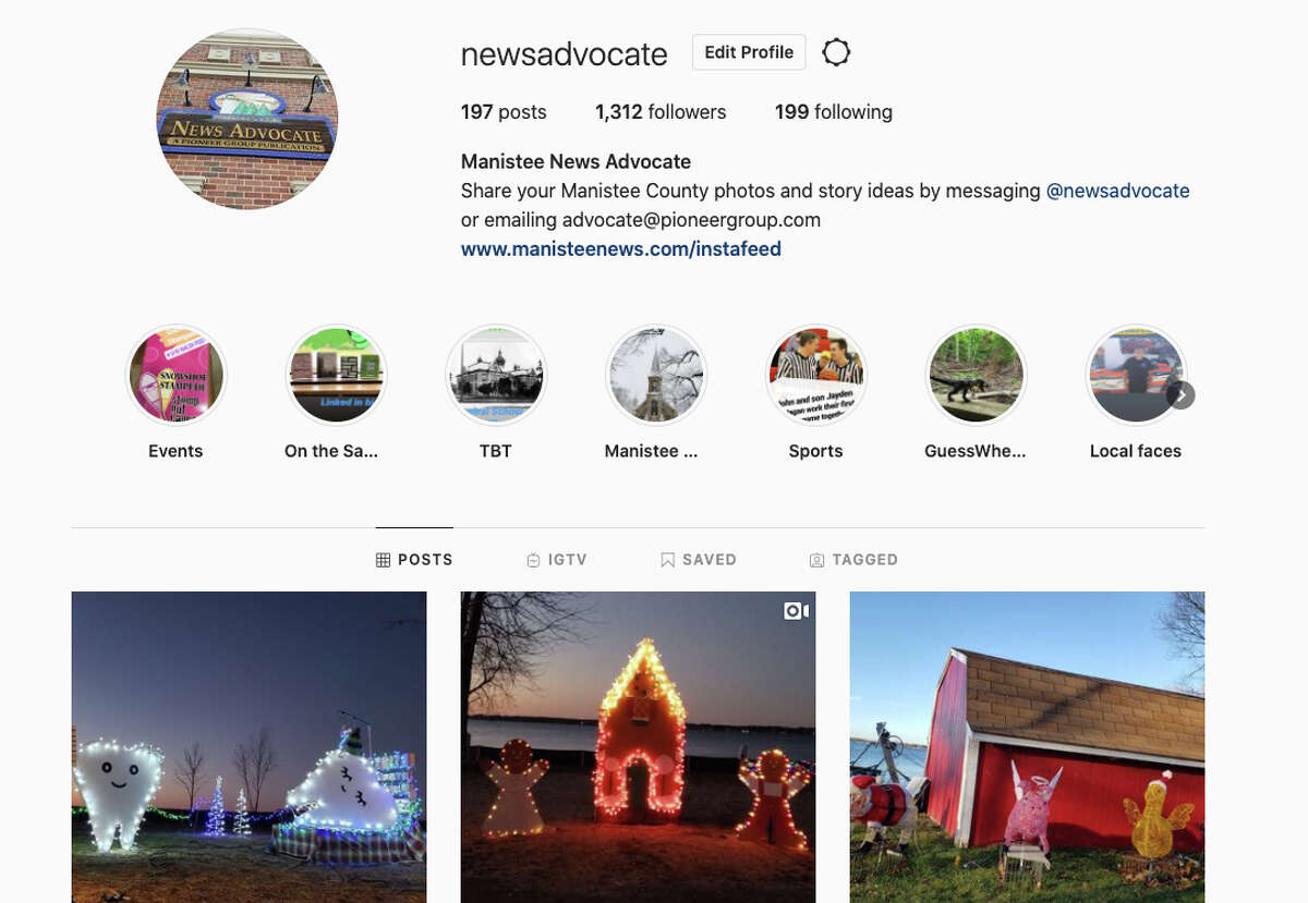 The News Advocate now has a special landing page dedicated to tying those great photos to the stories they relate to on Instagram. The landing page with all the stories is linked in the Instagram profile, or bio page, and one simply needs to tap or click on it to connect with the story behind those photos and videos.