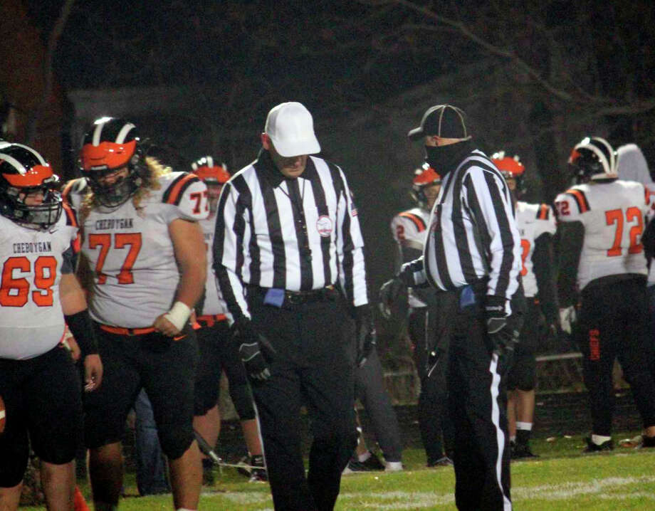 An ongoing theme for some schools during the fall athletic season, referee shortages caused a handful of scheduling conflicts before the shutdown came into effect. Photo: Pioneer File Photo
