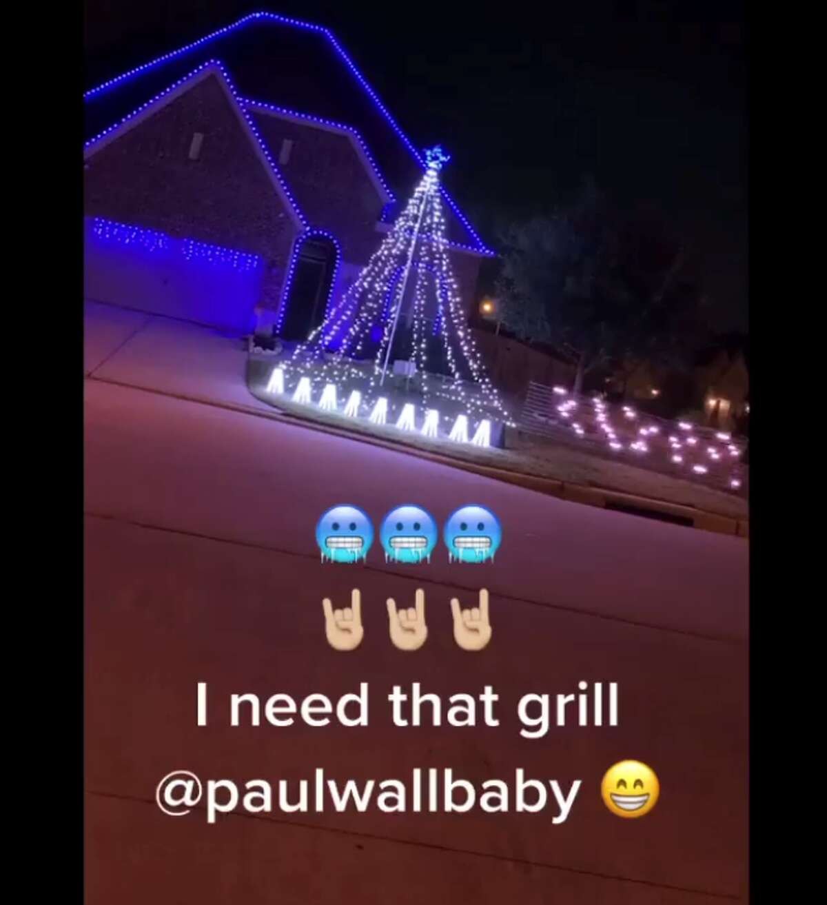 Former Houston DJ Frankie To-ong has a few iconic H-town muses when it comes to Christmas decorations in his neighborhood including Paul Wall and Slim Thug.