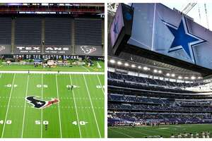 The Texans' NRG Stadium and Cowboys' AT&T Stadium would make a perfect home for an NFL bubble.