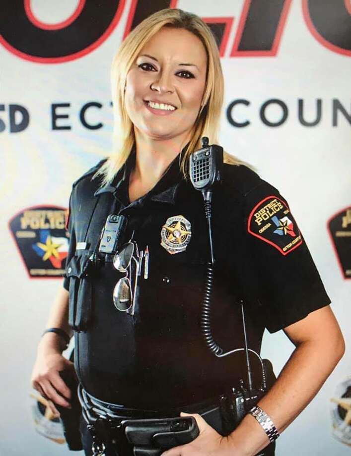 The Ector County ISD police department announced Monday that Officer Misti Waldrop, who had cancer, died Friday. Photo: Courtesy Photo