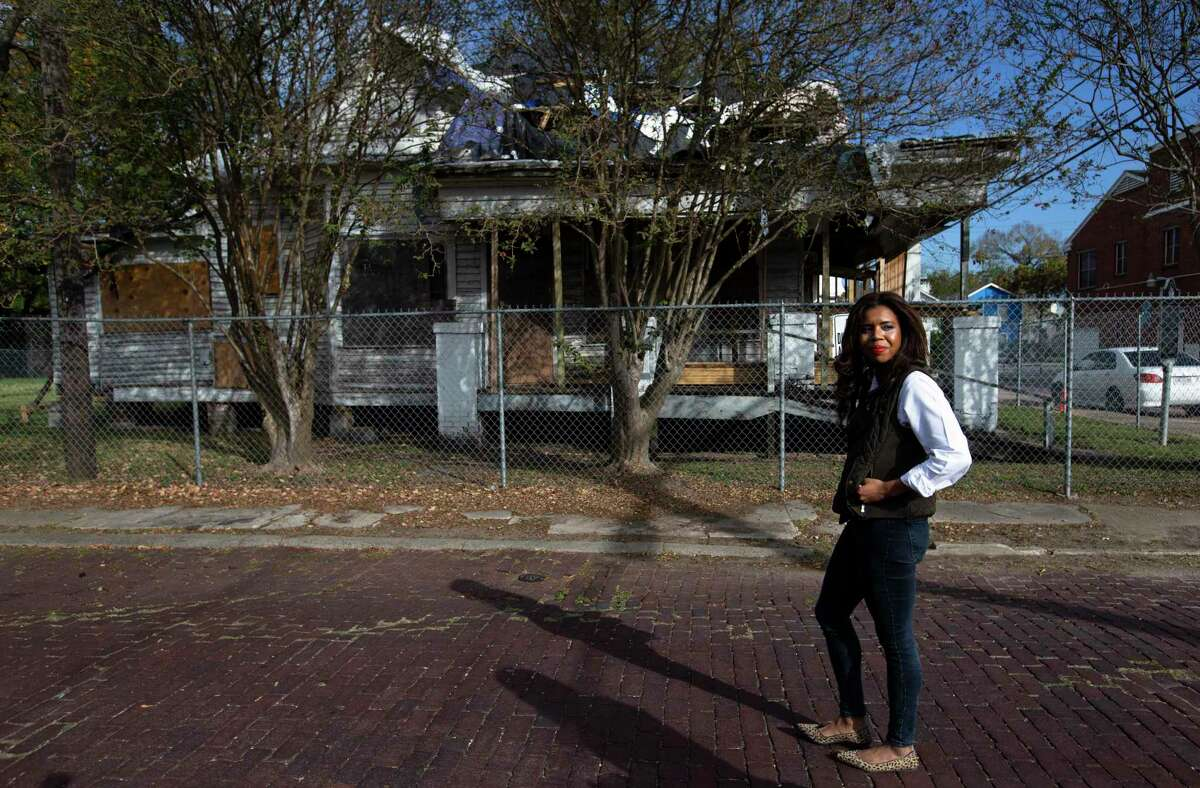 Houston native Claire Thielke is photographed while taking a walk with Houston Chronicle in Freedmen's Town Thursday, Nov. 19, 2020, in Houston. Thielke was recently appointed an independent director for Zillow.