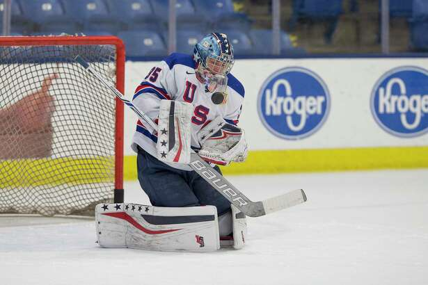 Darien's Spencer Knight, the top-rated, draft-eligible goaltender in North America, is expected to be a first-round pick at tonight's NHL Entry Draft in Vancouver.