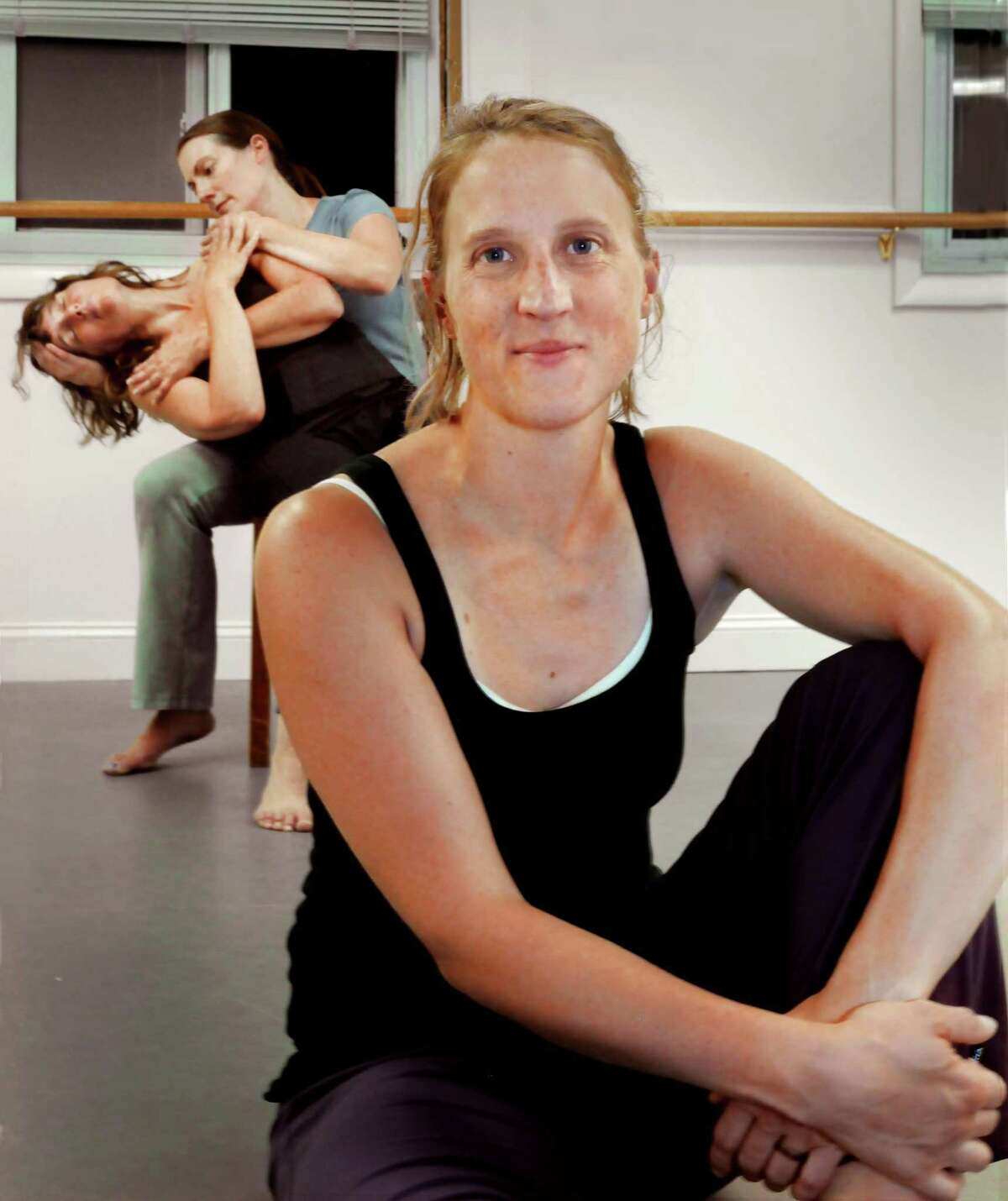 Choreographer Lacey Byrne performed at the Katherine Hepburn Cultural Center in Old Saybrook two years ago.
