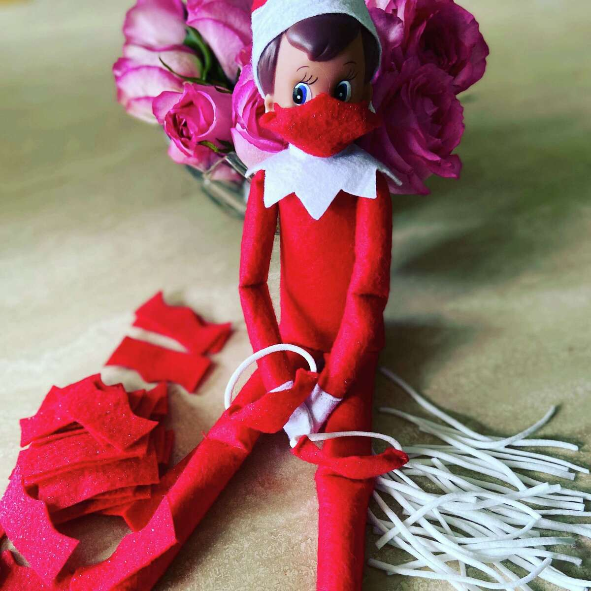 An Elf on the Shelf in PPE by Regina Salafia. The Elf on the Shelf company co-founder Chanda Bell and her mother wrote the eponymous children's book in 2005. Since then, countless families have been following the tradition of hiding Santa's elves each night. These little