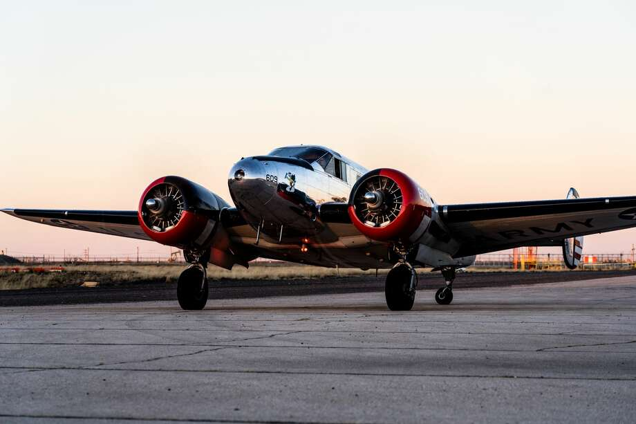 """The Commemorative Air Force is launching its """"12 Planes of Christmas"""" campaign to raise funds for World War II-era aircraft restoration. The sixth annual fundraiser will run online Tuesday through Dec. 31. Photo: Courtesy Photo"""