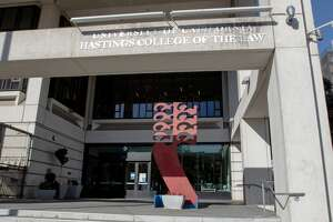 The exterior of University of California Hastings College of the Law Mary Kane Kay Hall on Nov. 30, 2020. The law school is part of the UC school systemThe exterior of University of California Hastings College of the Law Mary Kay Kane Hall on Nov. 30, 2020. The law school is part of the UC school system