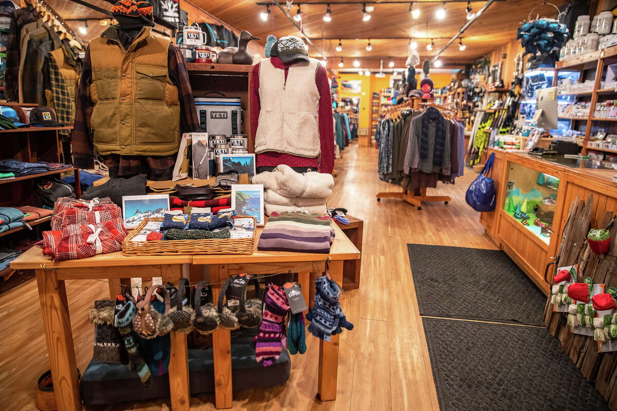 Just inside the front door at Alpenglow Sports.